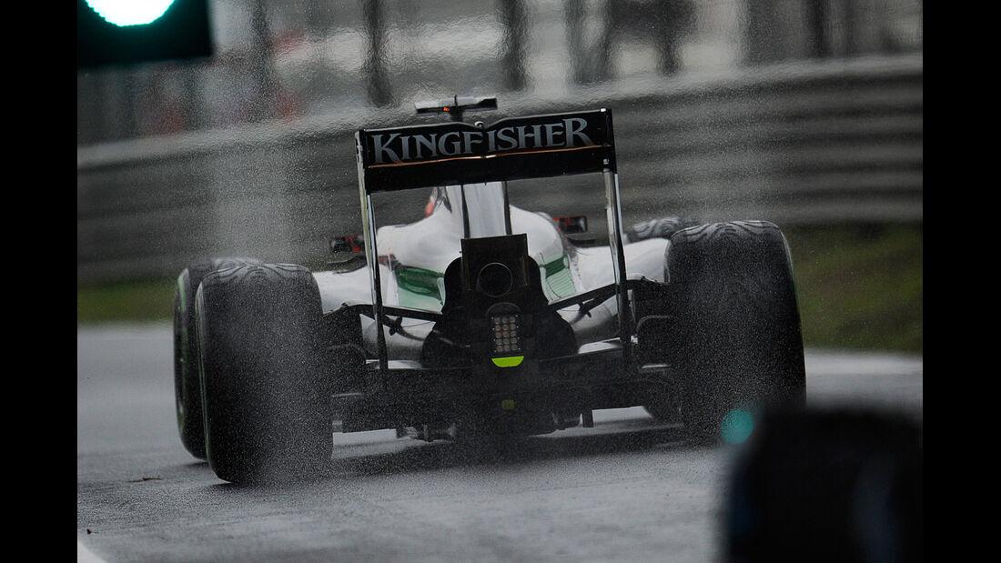 Nico Hülkenberg - Force India - Formel 1 - GP China - Shanghai - 19. April 2014