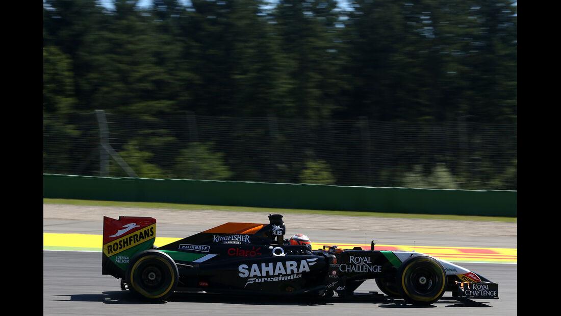 Nico Hülkenberg - Force India - Formel 1 - GP Deutschland - Hockenheim - 18. Juli 2014