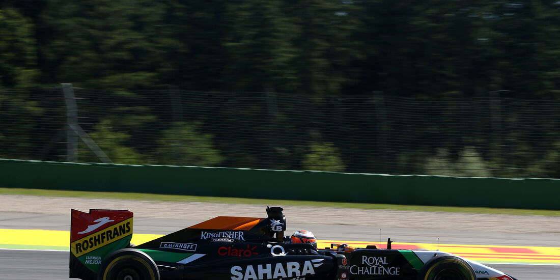 Nico Hülkenberg - Force India - Formel 1 - GP Deutschland - Hockenheim - 18. Juli 2014