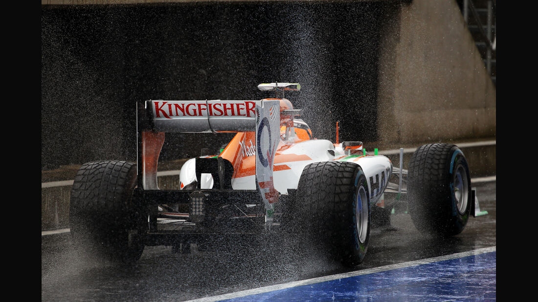 Nico Hülkenberg - Force India - Formel 1 - GP England - Silverstone - 7. Juli 2012