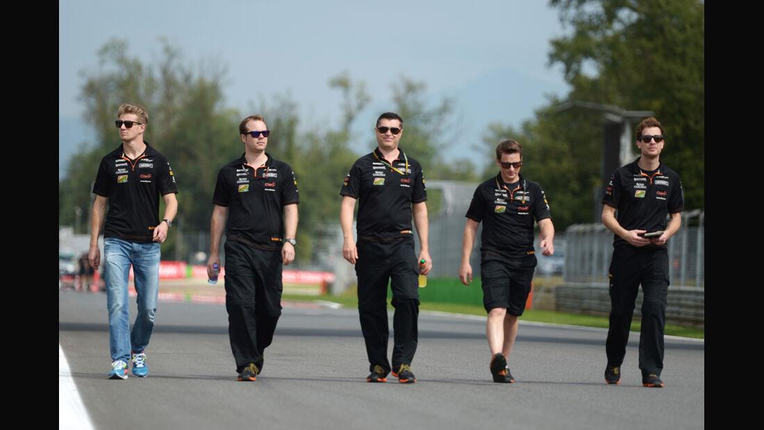 Nico Hülkenberg - Force India - Formel 1 - GP Italien - 4. September 2014