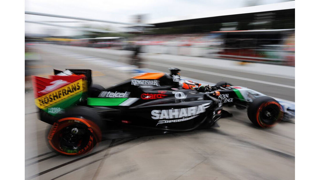 Nico Hülkenberg - Force India - Formel 1 - GP Italien - 5. September 2014