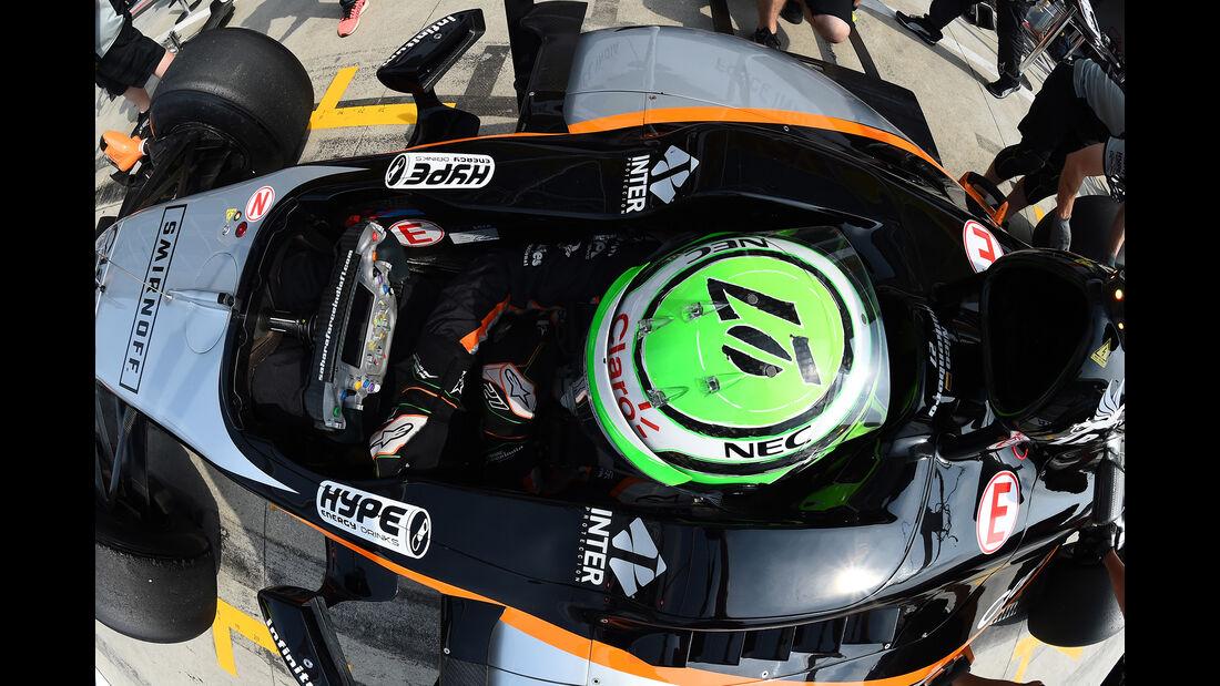 Nico Hülkenberg - Force India - Formel 1 - GP Italien - Monza - 2. September 2016