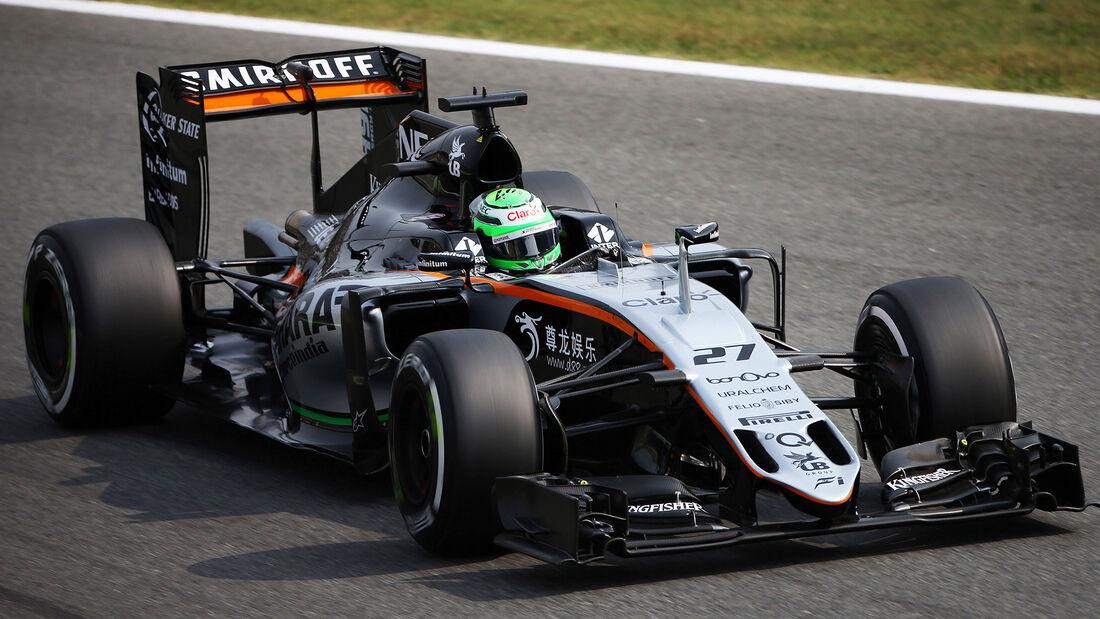 Nico Hülkenberg - Force India - Formel 1 - GP Italien - Monza - 3. September 2016