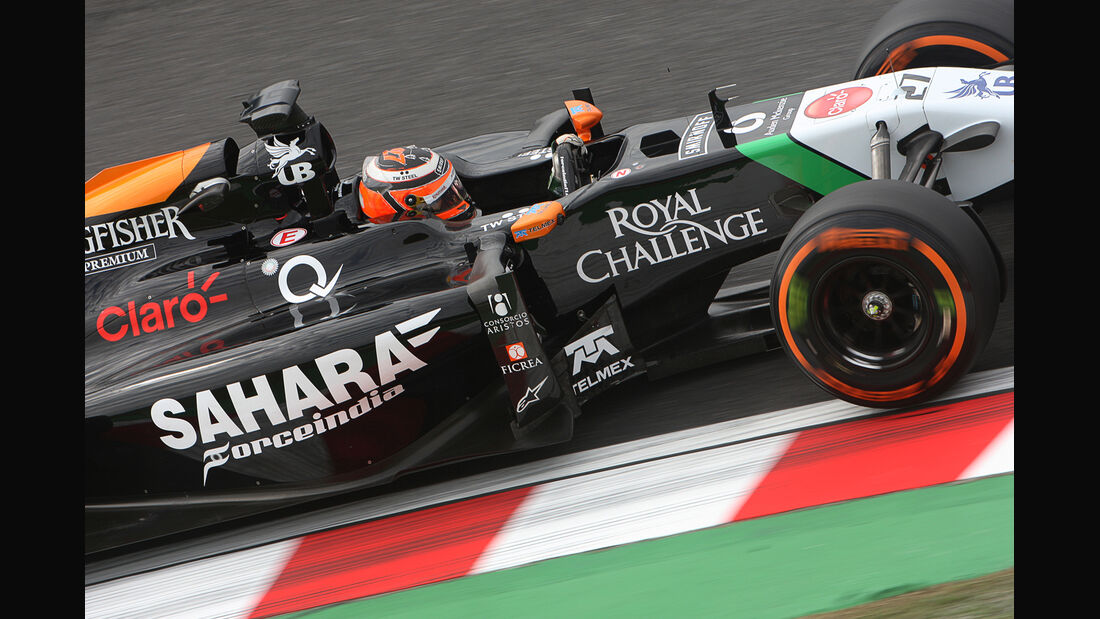 Nico Hülkenberg - Force India - Formel 1 - GP Japan - 3. Oktober 2014