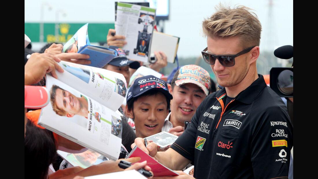 Nico Hülkenberg - Force India - Formel 1 - GP Japan - Suzuka - 2. Oktober 2014