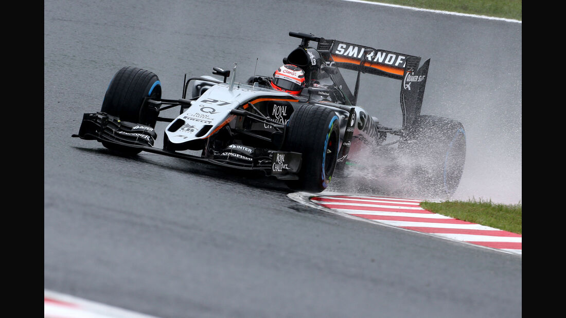 Nico Hülkenberg - Force India - Formel 1 - GP Japan - Suzuka - 25. September 2015