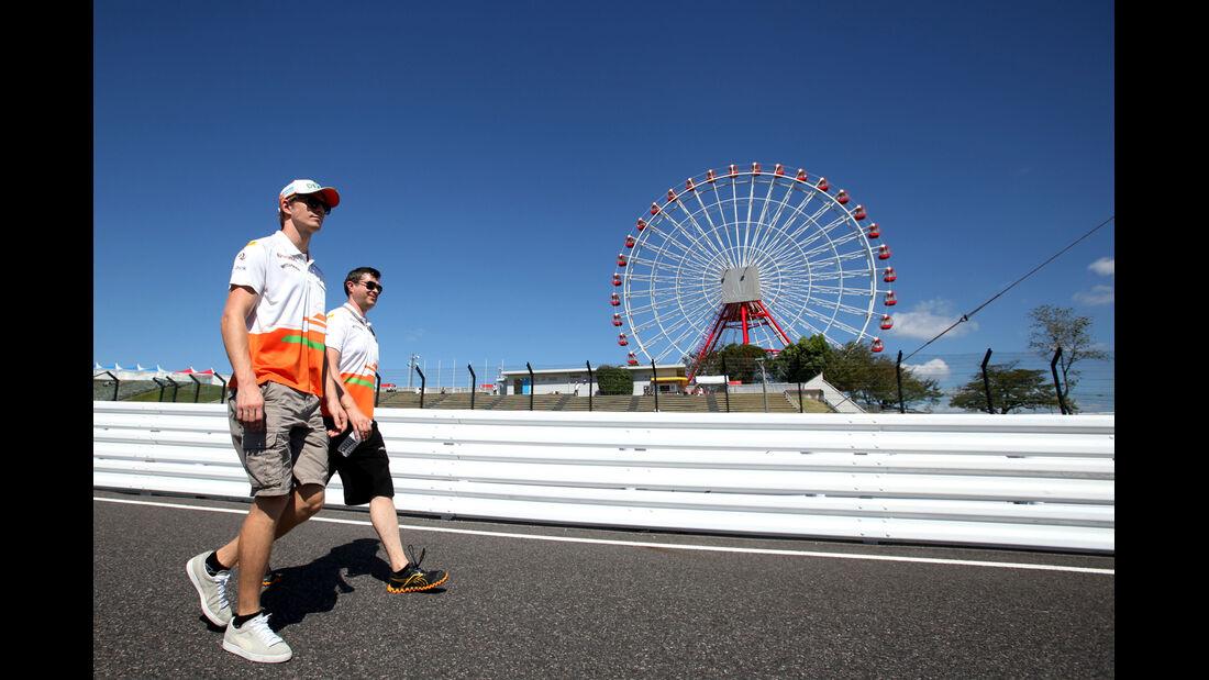 Nico Hülkenberg - Force India - Formel 1 - GP Japan - Suzuka - 4. Oktober 2012