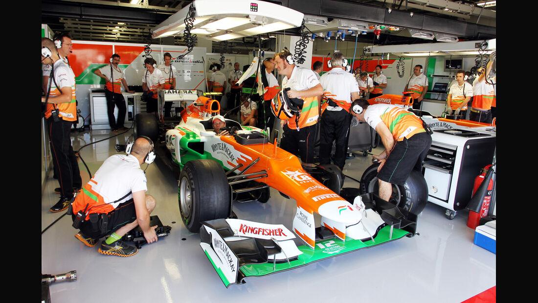Nico Hülkenberg - Force India - Formel 1 - GP Japan - Suzuka - 5. Oktober 2012