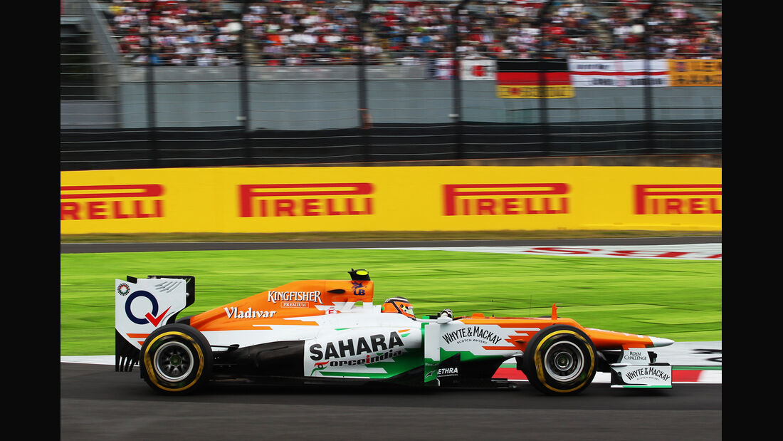 Nico Hülkenberg - Force India - Formel 1 - GP Japan - Suzuka - 6. Oktober 2012