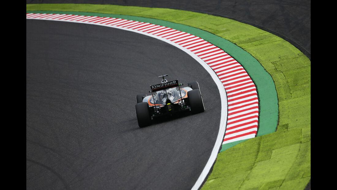 Nico Hülkenberg - Force India - Formel 1 - GP Japan - Suzuka - Freitag - 7.10.2016