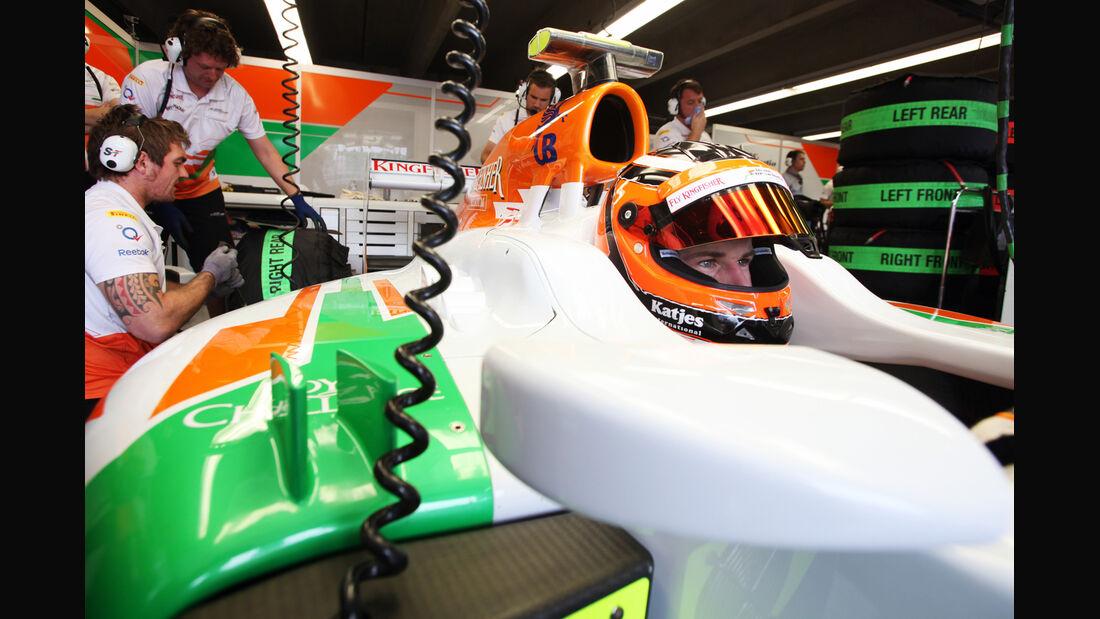 Nico Hülkenberg - Force India - Formel 1 - GP Kanada 2012 - 8. Juni 2012