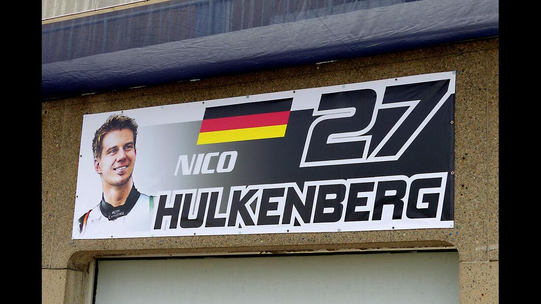 Nico Hülkenberg - Force India - Formel 1 - GP Kanada - Montreal - 4. Juni 2014