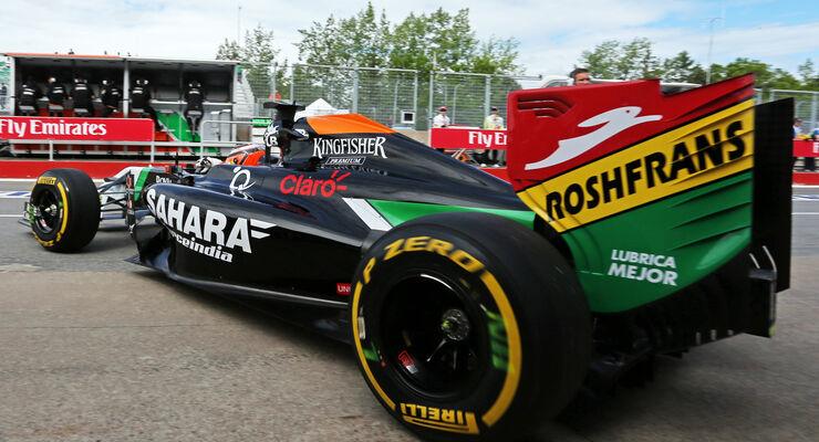 Nico Hülkenberg - Force India - Formel 1 - GP Kanada - Montreal - 6. Juni 2014