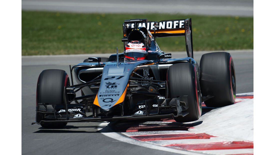 Nico Hülkenberg - Force India - Formel 1 - GP Kanada - Montreal - 6. Juni 2015