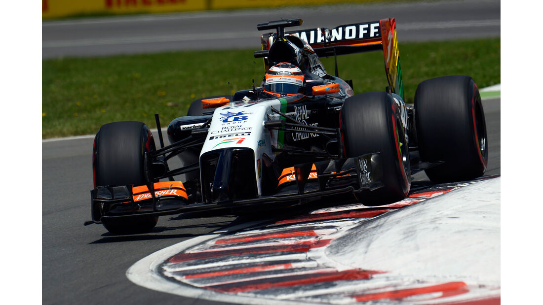 Nico Hülkenberg - Force India - Formel 1 - GP Kanada - Montreal - 7. Juni 2014