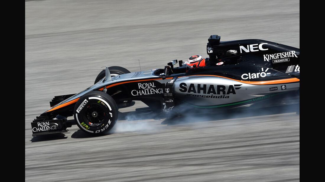 Nico Hülkenberg - Force India - Formel 1 - GP Malaysia - 28. März 2015
