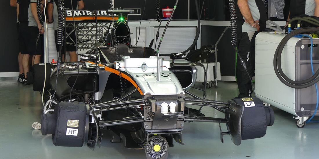 Nico Hülkenberg - Force India - Formel 1 - GP Malaysia - Freitag - 30.9.2016