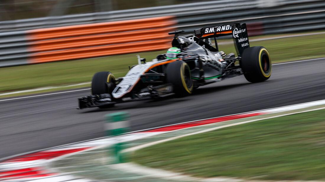 Nico Hülkenberg - Force India - Formel 1 - GP Malaysia - Qualifying - 1. Oktober 2016