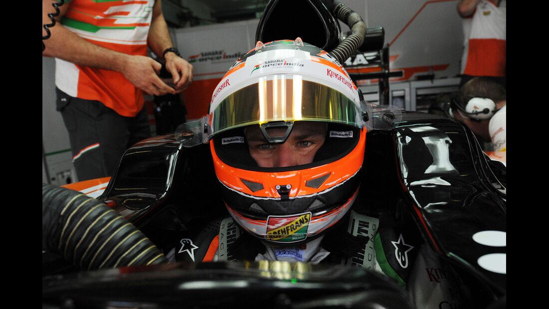 Nico Hülkenberg - Force India - Formel 1 - GP Malaysia - Sepang - 28. März 2014