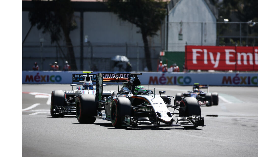 Nico Hülkenberg - Force India - Formel 1 - GP Mexiko - 29. Oktober 2016