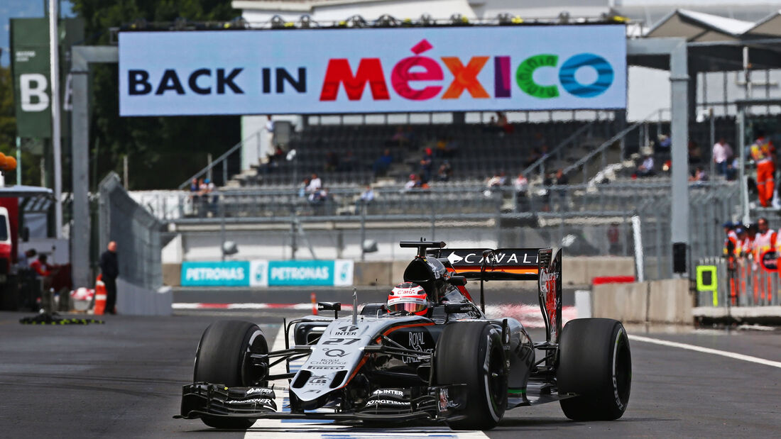 Nico Hülkenberg - Force India - Formel 1 - GP Mexiko - 30. Oktober 2015