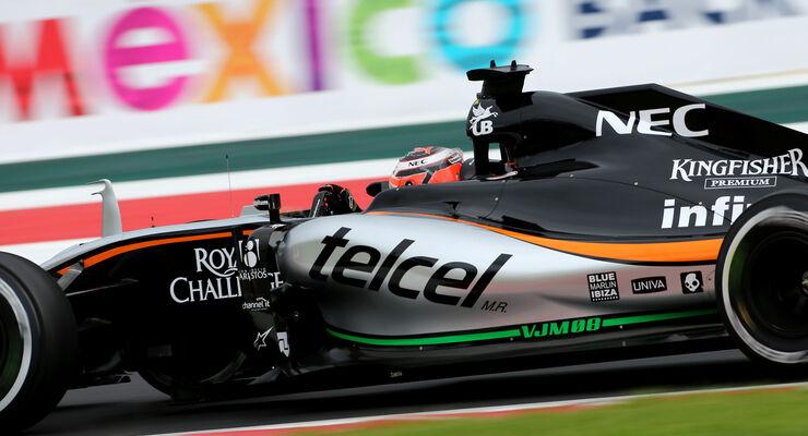 Nico Hülkenberg - Force India - Formel 1 - GP Mexiko - 31. Oktober 2015