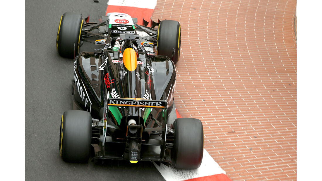 Nico Hülkenberg - Force India - Formel 1 - GP Monaco - 22. Mai 2014