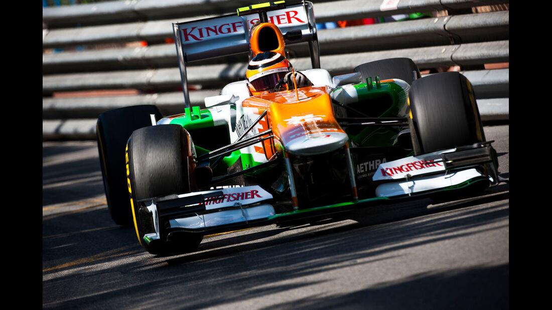 Nico Hülkenberg - Force India - Formel 1 - GP Monaco - 24. Mai 2012