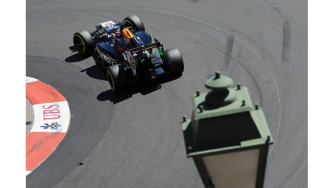 Nico Hülkenberg - Force India - Formel 1 - GP Monaco - 24. Mai 2014