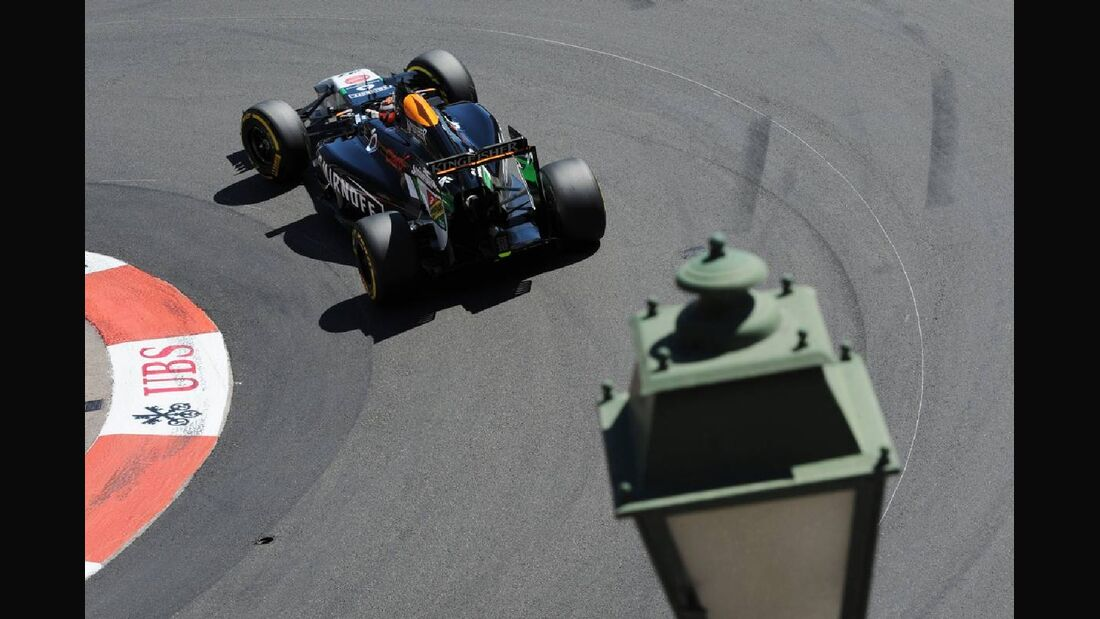 Nico Hülkenberg - Force India - Formel 1 - GP Monaco - 24. Mai 2014