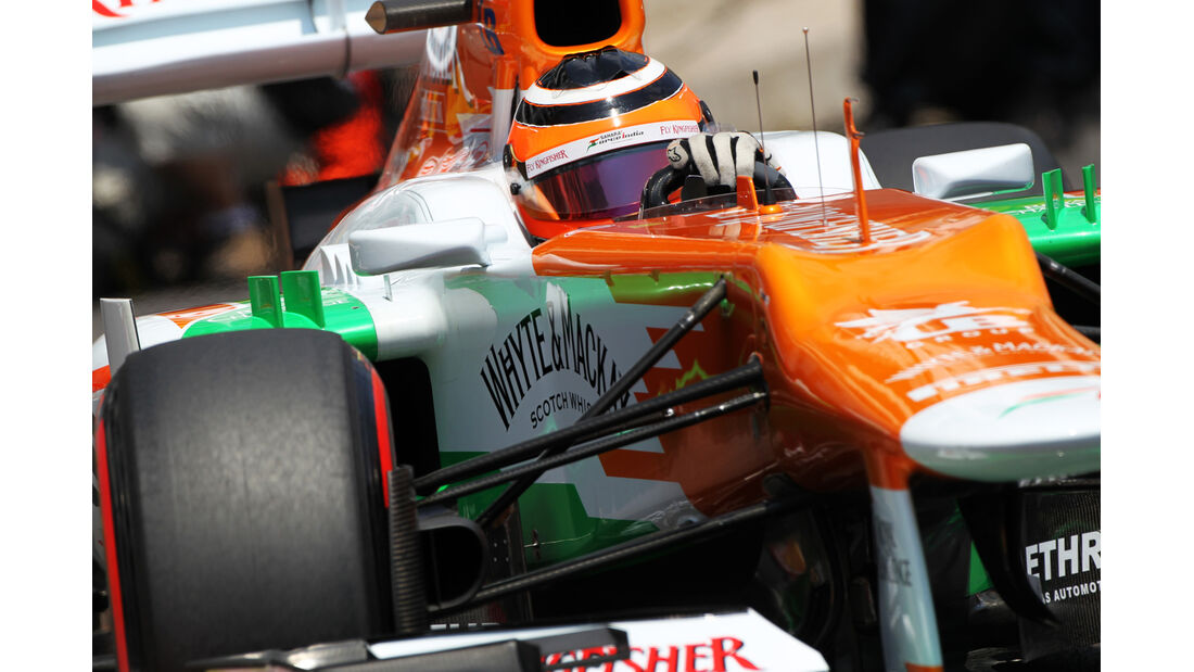 Nico Hülkenberg - Force India - Formel 1 - GP Monaco - 26. Mai 2012