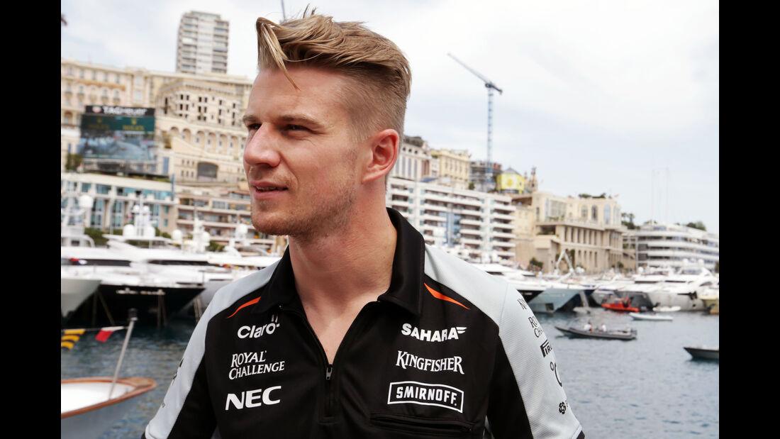 Nico Hülkenberg - Force India - Formel 1 - GP Monaco - 27. Mai 2016