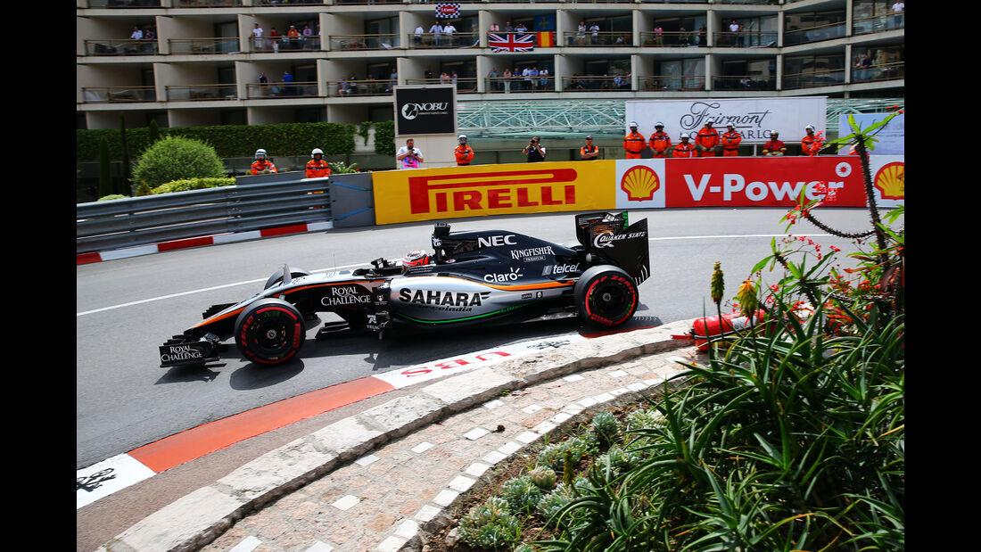 Nico Hülkenberg - Force India - Formel 1 - GP Monaco - Samstag - 23. Mai 2015