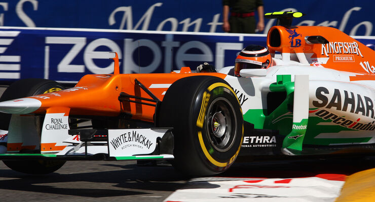 Nico Hülkenberg - Force India - Formel 1 - GP Monado - 24. Mai 2012