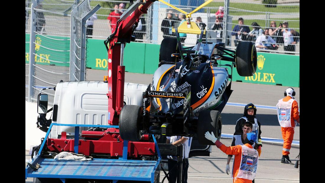Nico Hülkenberg - Force India - Formel 1 - GP Russland - 1. Mai 2016