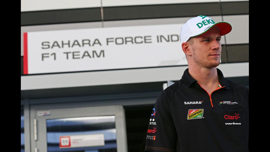 Nico Hülkenberg - Force India - Formel 1 - GP Russland - 11. Oktober 2014