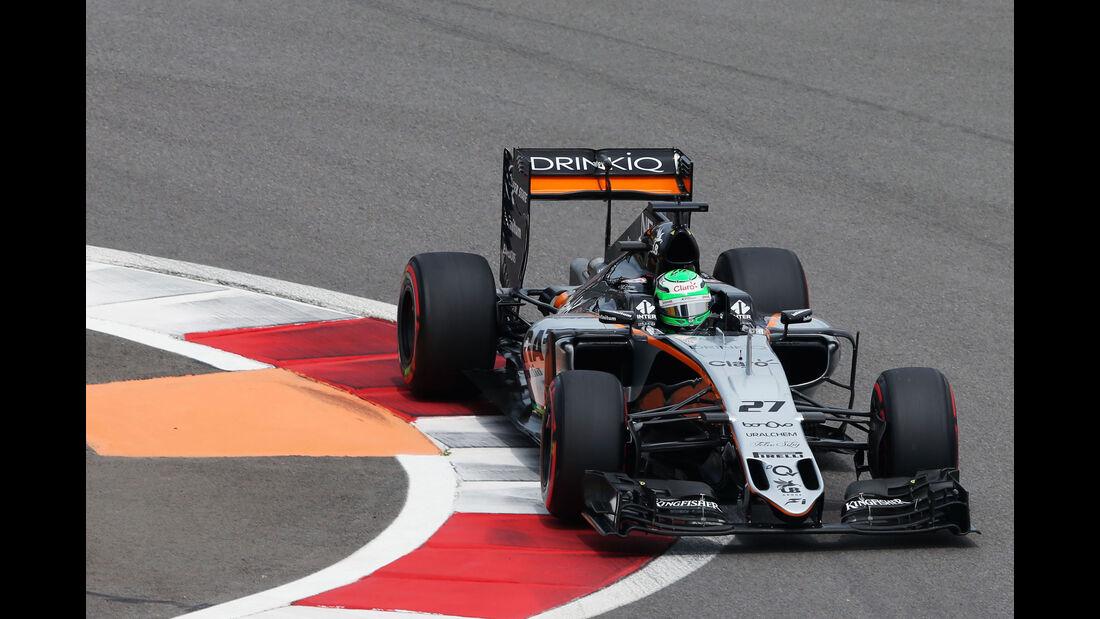 Nico Hülkenberg - Force India - Formel 1 - GP Russland - 30. April 2016