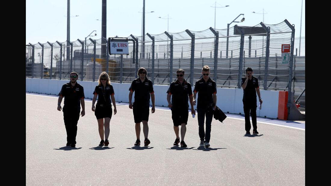 Nico Hülkenberg - Force India - Formel 1 - GP Russland - Sochi - Donnerstag - 8.10.2015