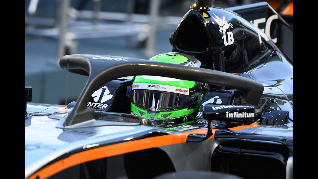 Nico Hülkenberg - Force India - Formel 1 - GP Singapur - 16. September 2016