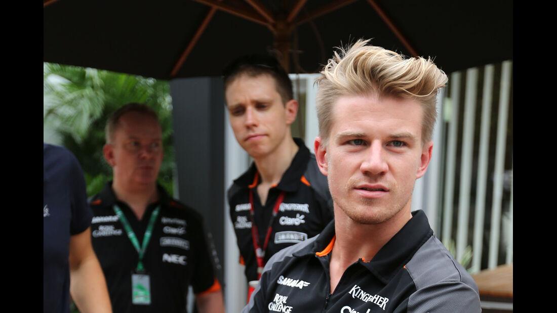 Nico Hülkenberg - Force India - Formel 1 - GP Singapur - 17. September 2015