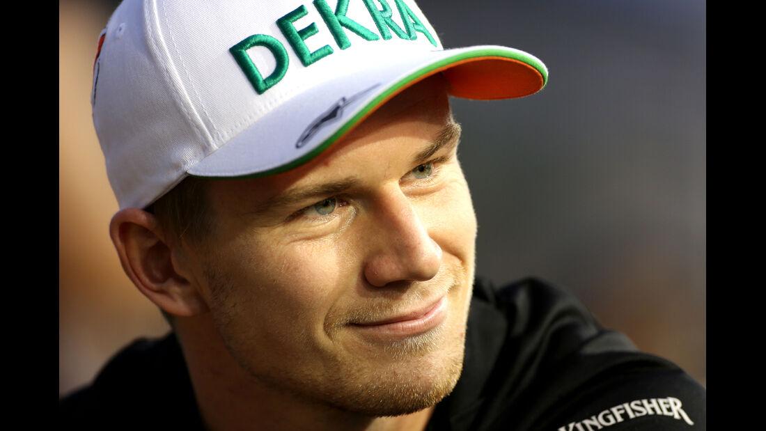 Nico Hülkenberg - Force India - Formel 1 - GP Singapur - 18. September 2014