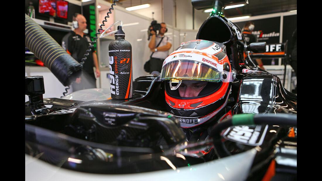 Nico Hülkenberg - Force India - Formel 1 - GP Singapur - 18. September 2015