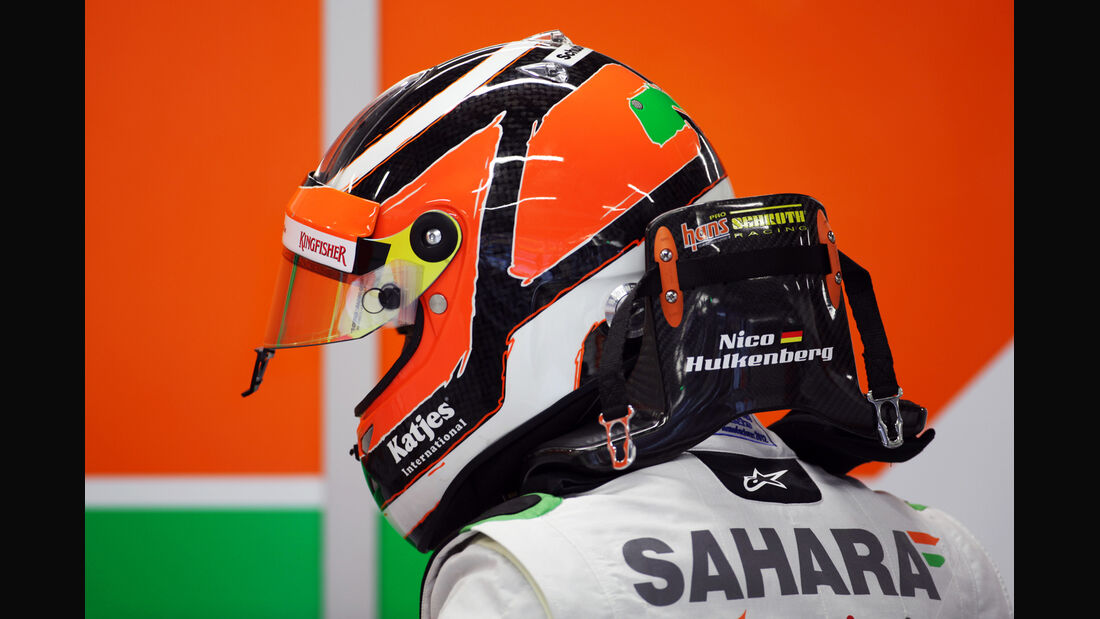 Nico Hülkenberg - Force India - Formel 1 - GP Singapur - 21. September 2012