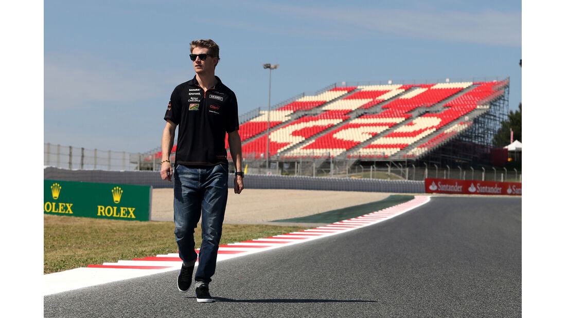Nico Hülkenberg - Force India - Formel 1 - GP Spanien - Barcelona - 8. Mai 2014