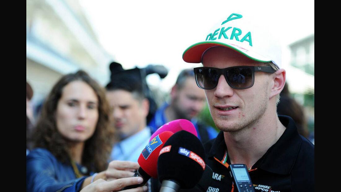 Nico Hülkenberg - Force India - Formel 1 - GP USA - 30. Oktober 2014