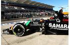 Nico Hülkenberg - Force India - Formel 1 - GP USA - 31. Oktober 2014