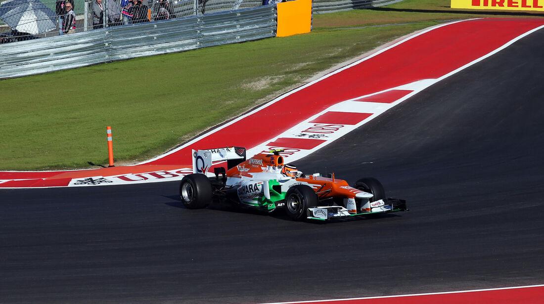 Nico Hülkenberg - Force India - Formel 1 - GP USA - Austin - 16. November 2012