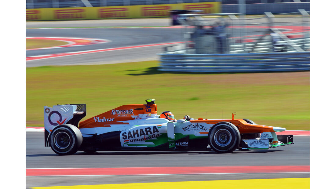 Nico Hülkenberg - Force India - Formel 1 - GP USA - Austin - 17. November 2012