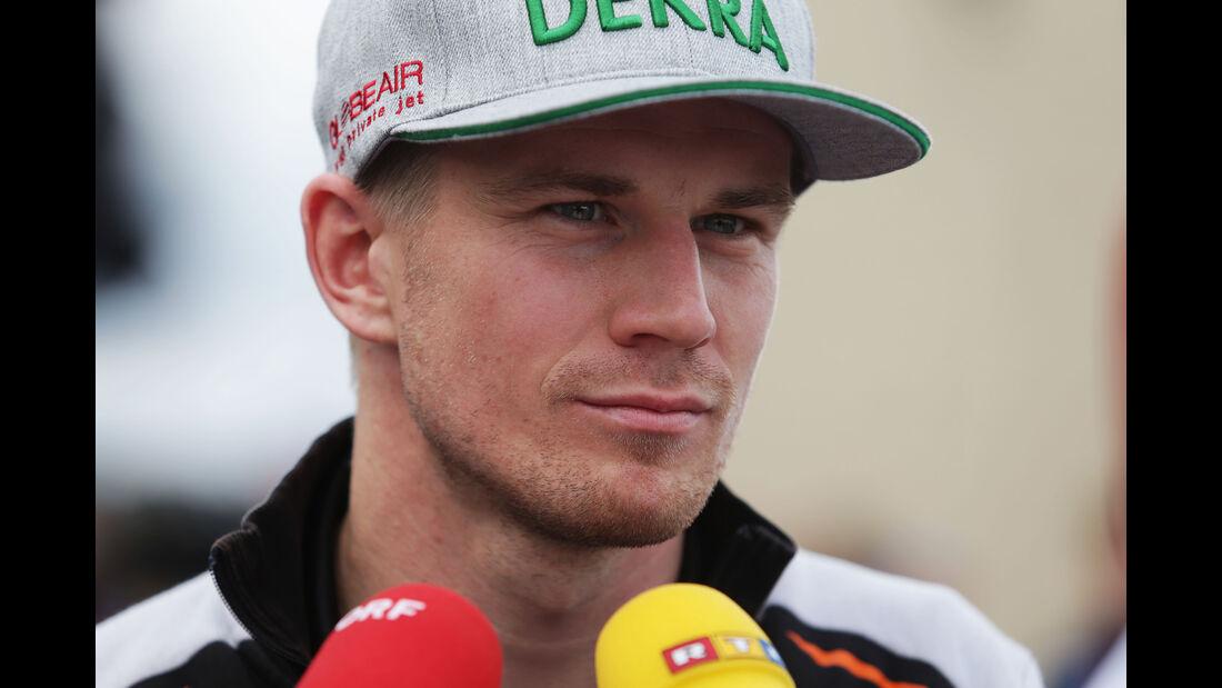 Nico Hülkenberg - Force India - Formel 1 - GP USA - Austin - 20. Oktober 2016